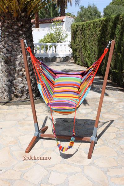 gestell f r h ngesessel h ngesessel h ngeschaukel aus. Black Bedroom Furniture Sets. Home Design Ideas